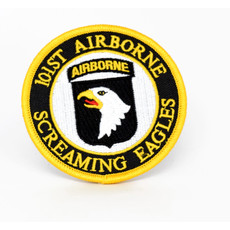 EE Army 101st Airborne Screaming Eagles Patch