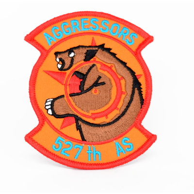 EE USAF Aggressors 527th AS Patch