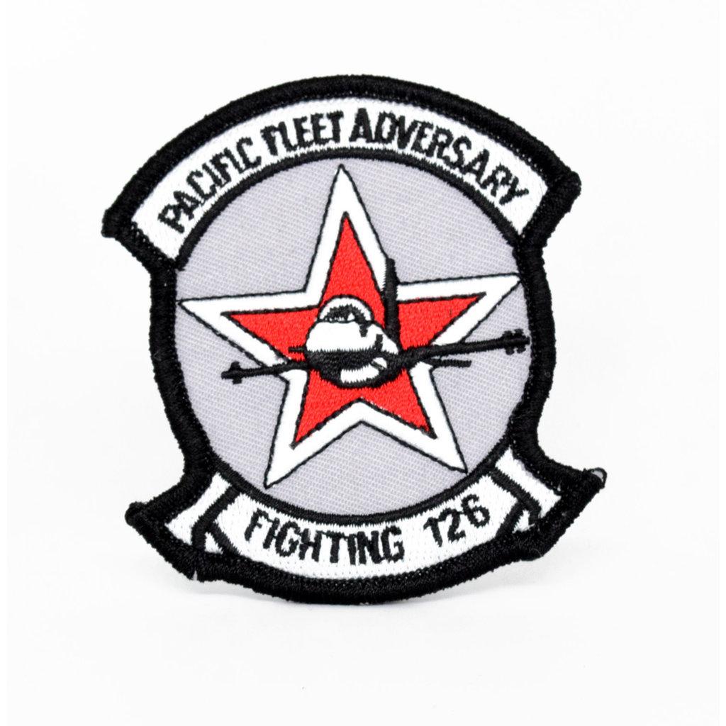 EE USN Pacific Fleet Fighting 126 Patch