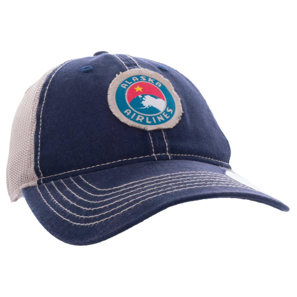 AA Alaska Airlines Vintage Cap
