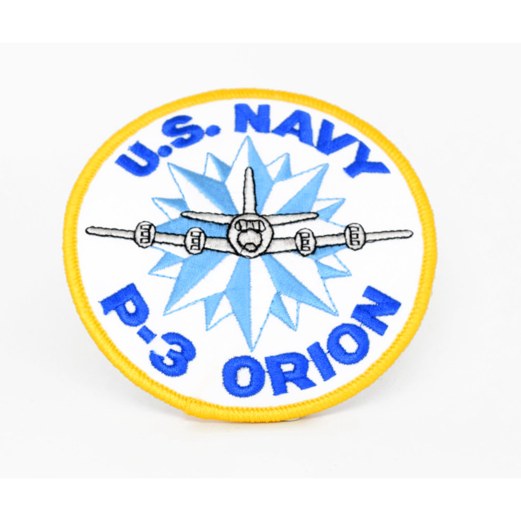 EE US Navy P-3 Orion Patch