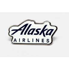 AA Alaska Airlines Logo Pin