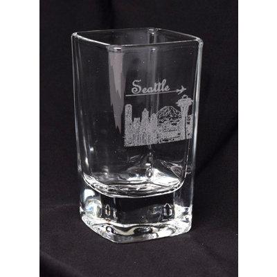 Seattle Skyline Shot Glass