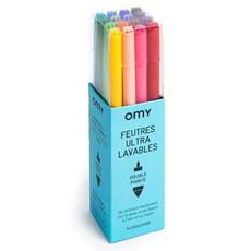 OMY 16 Ulta Washable Markers