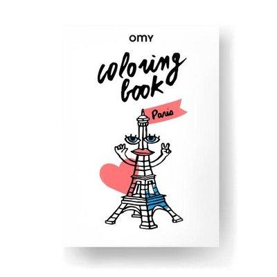 OMY  PARIS - COLORING BOOK