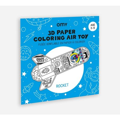 OMY  3D AIR TOY - ROCKET