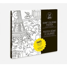OMY  Coloring Poster- PARIS