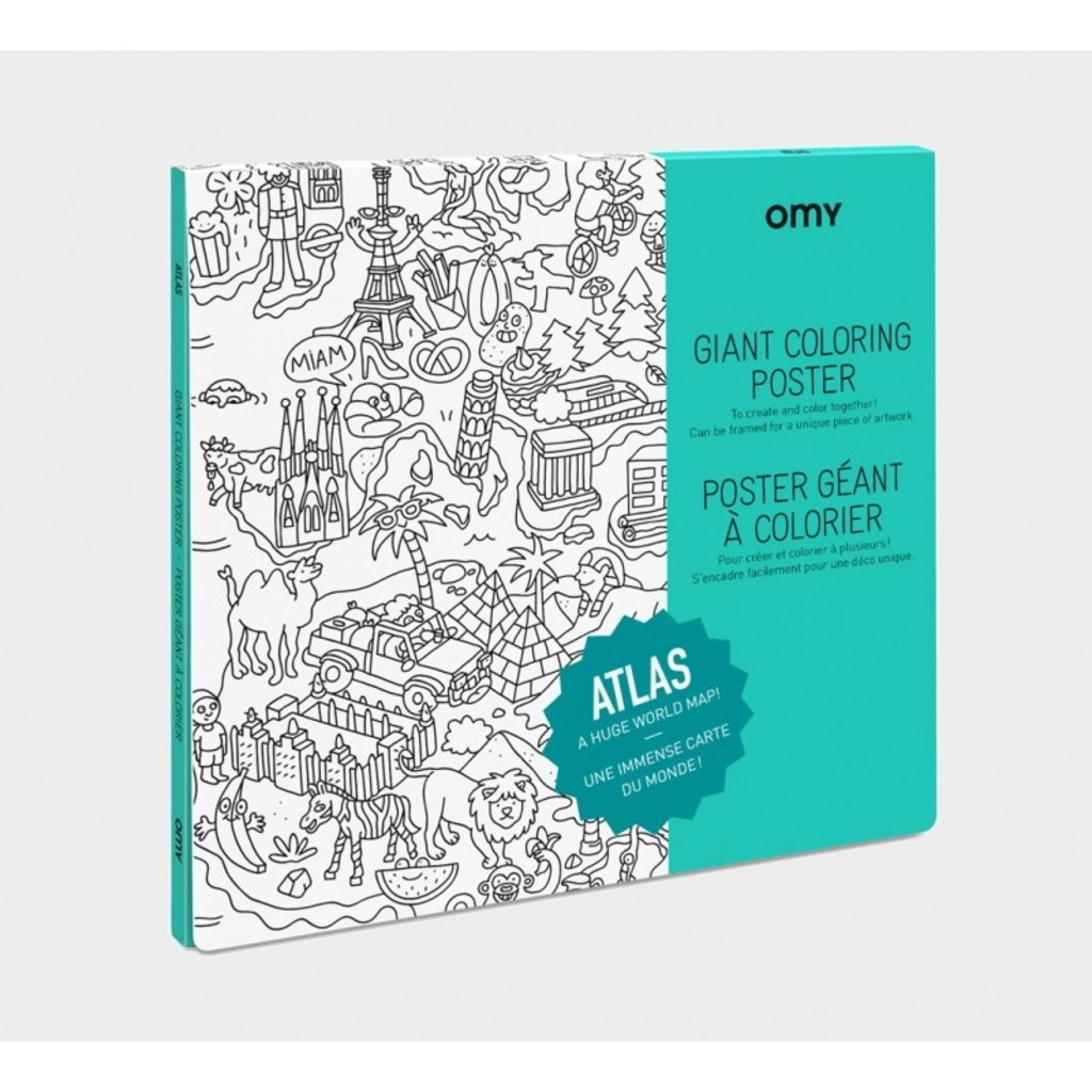 OMY  Coloring Poster- ATLAS