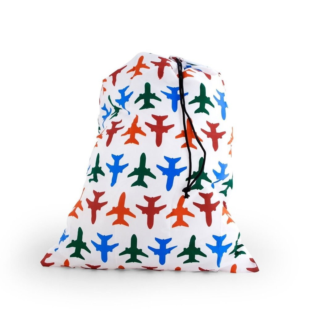 Travel Laundry Bag - Planes