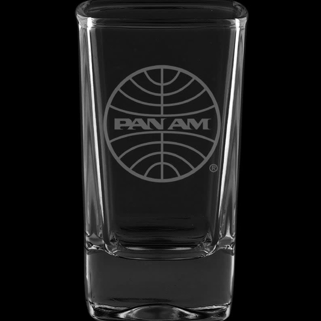 Pan Am Globe Shot Glass
