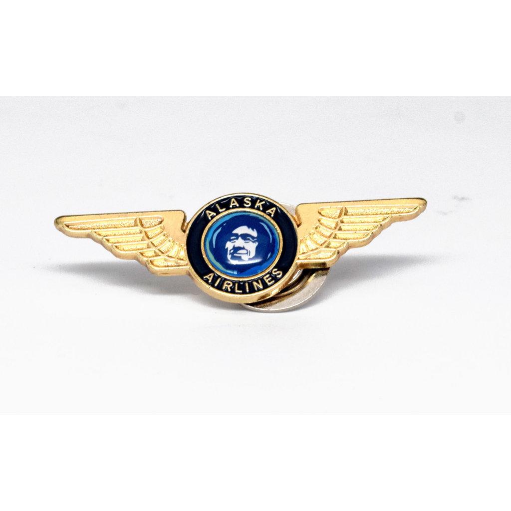 AA Alaska Airlines Junior Wings