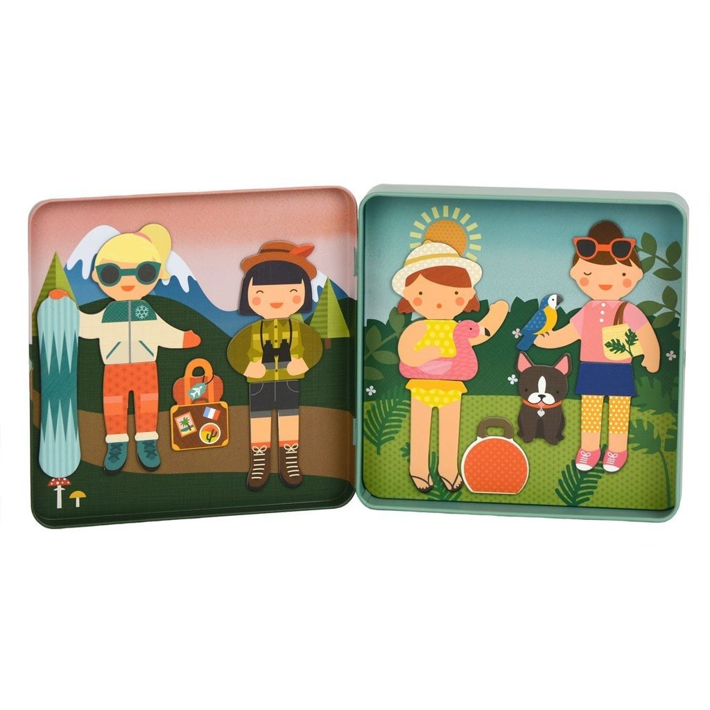 Little Travelers On-the-Go Magnetic Play set