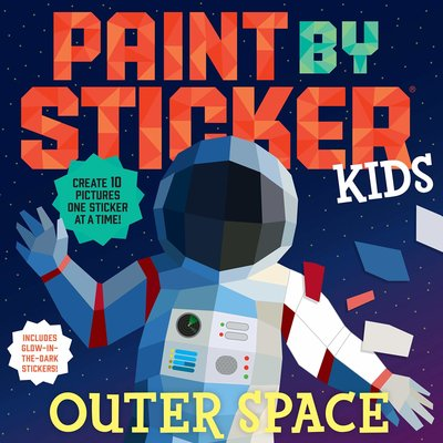 Paint by Sticker Kids-Outerspace