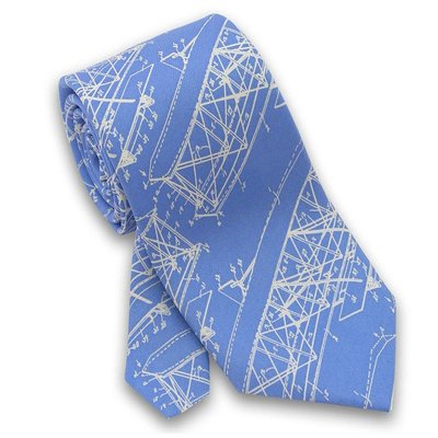 Josh Bach Limited Wright Brothers  Necktie