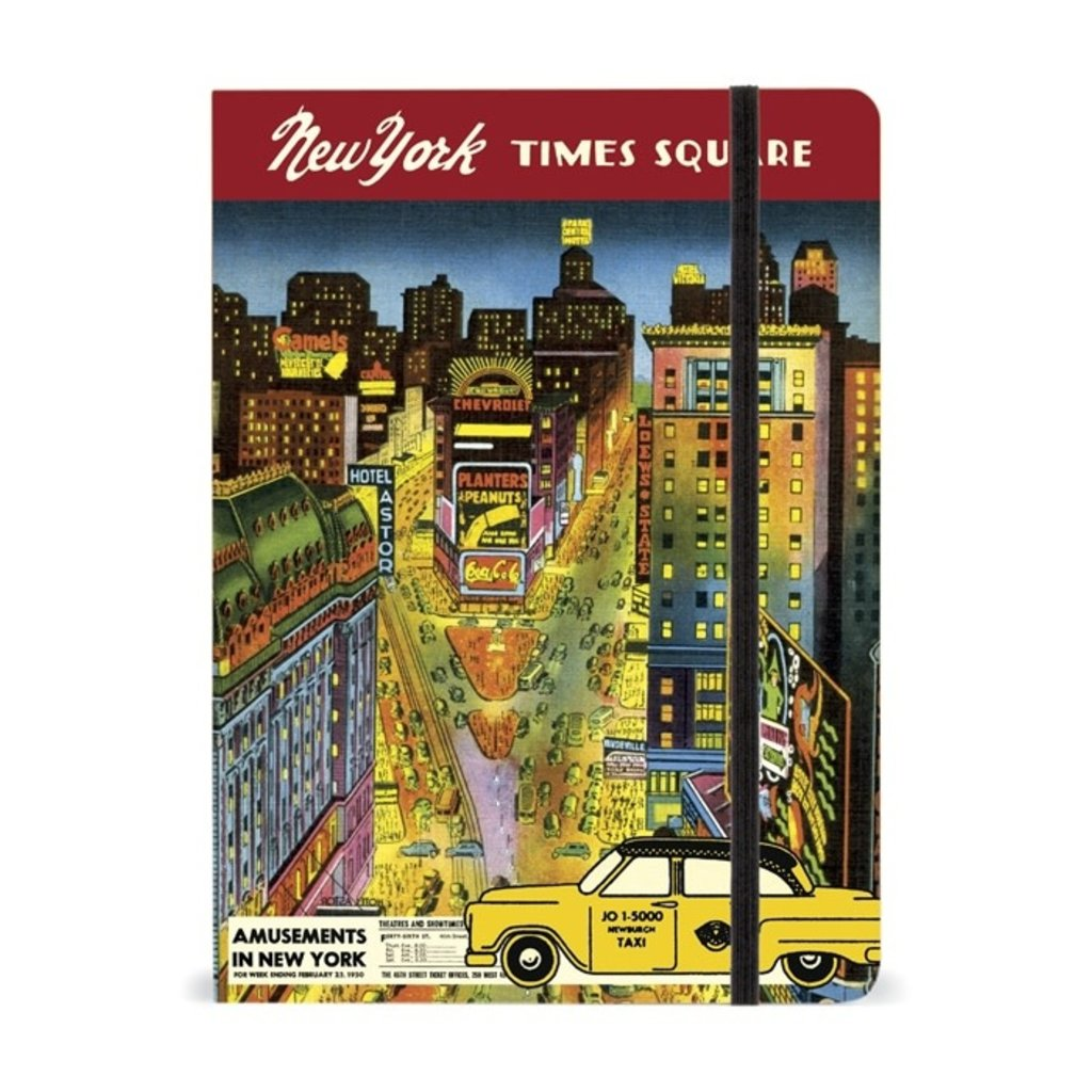 New York City Times Square Large Notebook