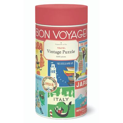 Bon Voyage 1,000 Piece Puzzle