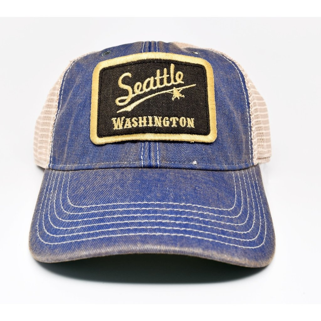 Seattle Vintage Trucker Cap