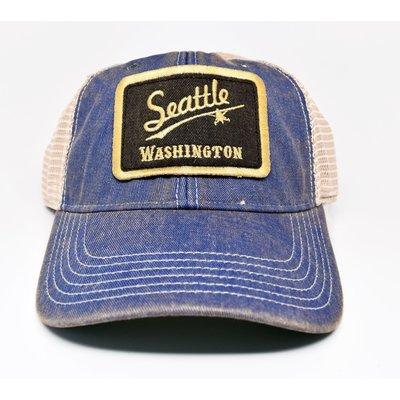 Seattle Vintage Trucker Cap