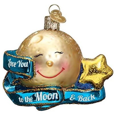 Love you to the Moon and Back Ornament