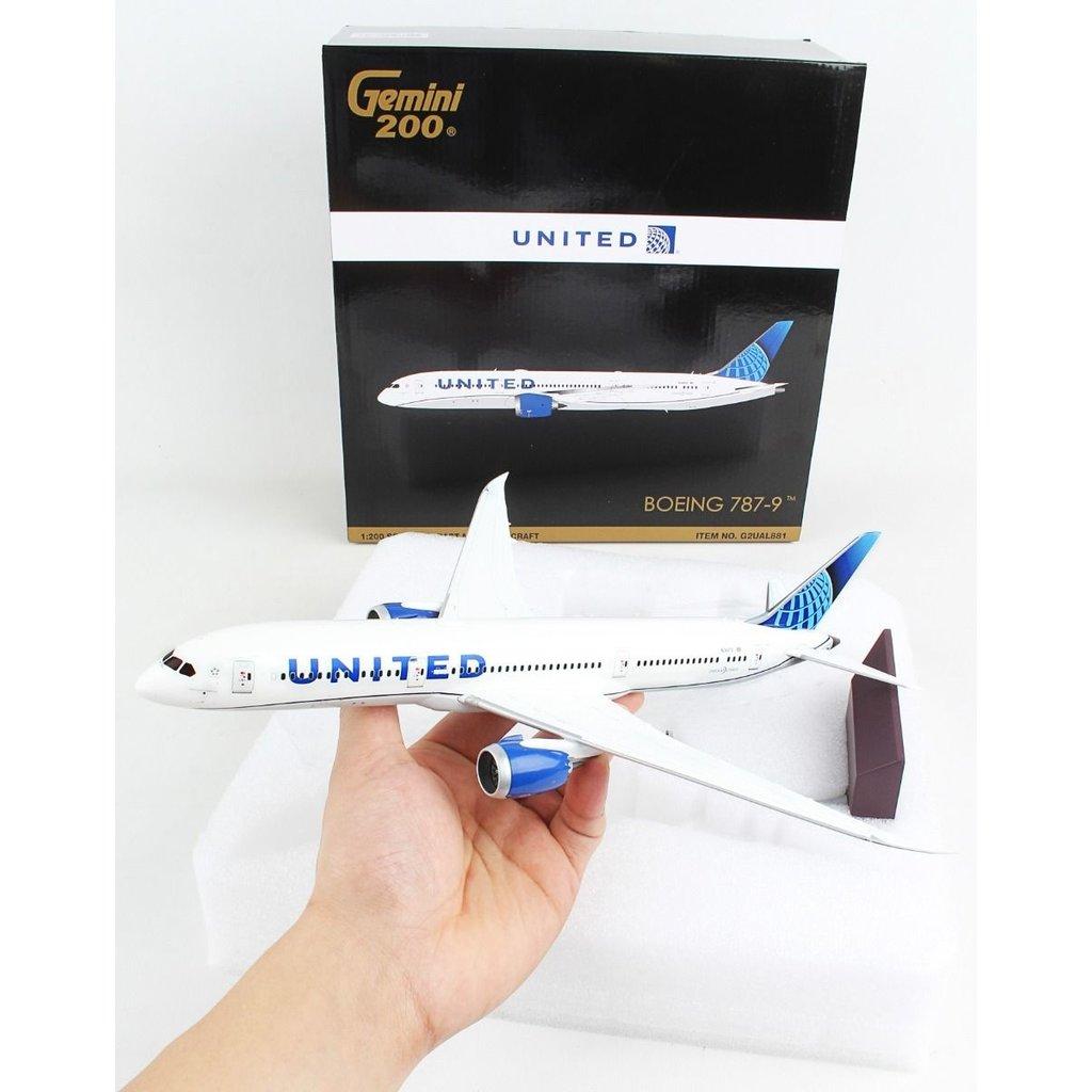 UNITED 787-9 1/200