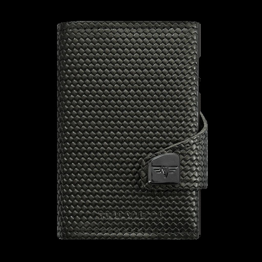 Tru Virtu Click n Slide Leather Diagonal Carbon Black