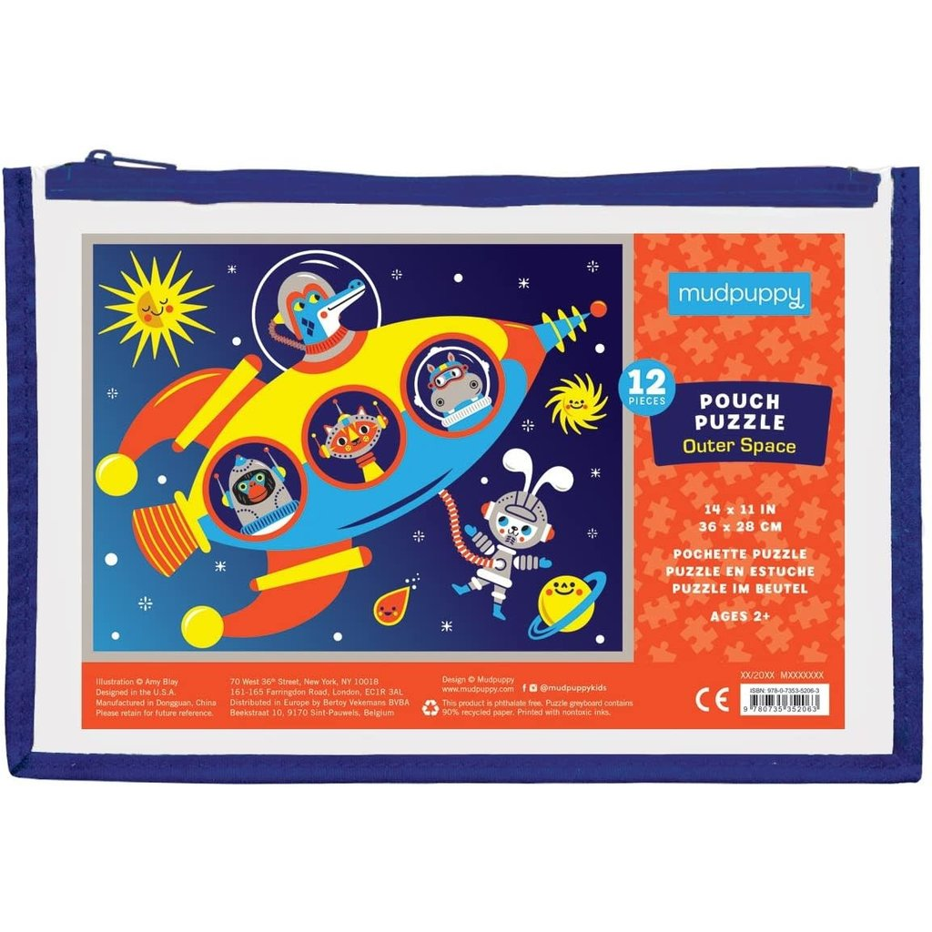 Puzzle Pouch Outer Space