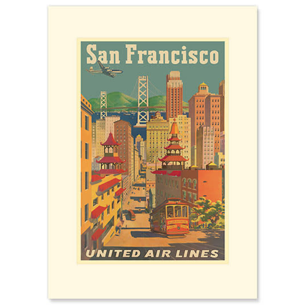 San Francisco City View Greeting Card