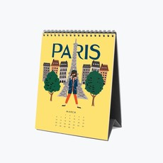 RP Explore The World Desk Calendar 2022