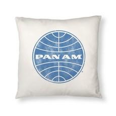 Pan Am Logo Pillow Cover