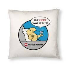 Western Wally Bird Pillow Cover