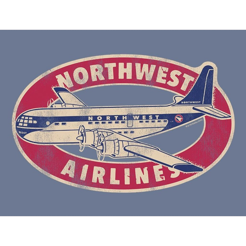 Northwest Airlines Startcruiser Retro Men's T-shirt