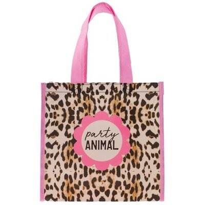 Leopard Recycled Gift Bag