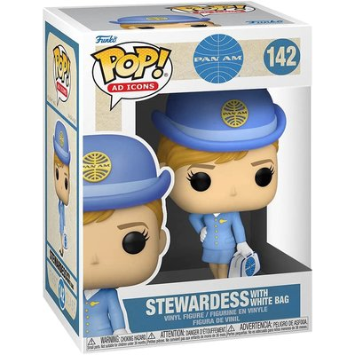 EED Pan Am Stewardess Pop up Vinyl with white bag