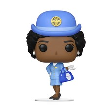 EED Pan Am Stewardess Pop up Vinyl with blue bag