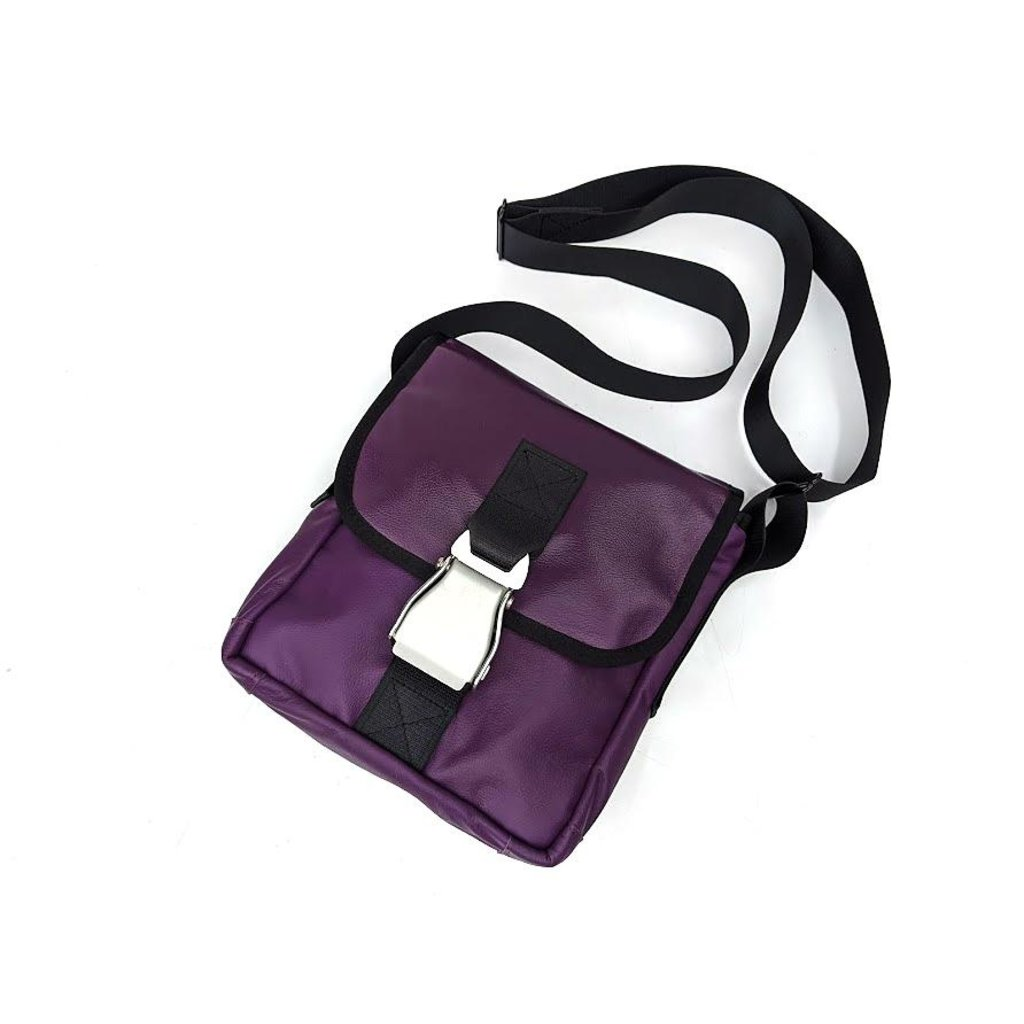Airbus A320 Mini Messenger Bag  recyld Leather