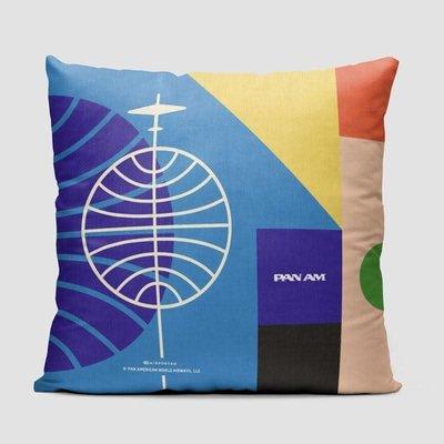 Pan Am Bauhaus Color Pillow Cover-Multi