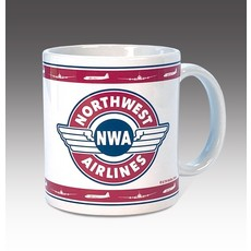 Vintage Northwest Airlines Logo Coffee Mug