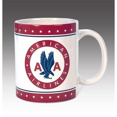 Vintage American Airlines Logo Coffee Mug
