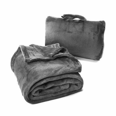 Fold 'n Go™ Blanket- Charcoal