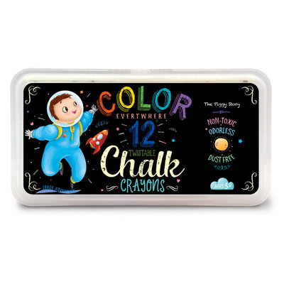 TPS- Color Everywhere Chalk Crayons- Space Adventure