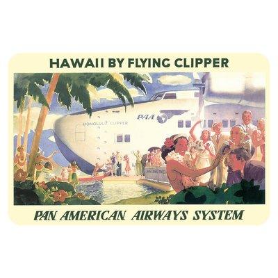 Pan Am Clipper Sticker