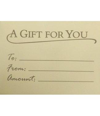 Gift Card $250.00