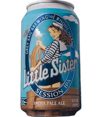 Grey Sail Little Sister session IPA 12oz can 6pk