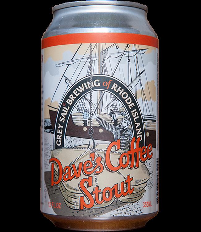 Grey Sail Dave's Coffee Stout 12oz can 6pk