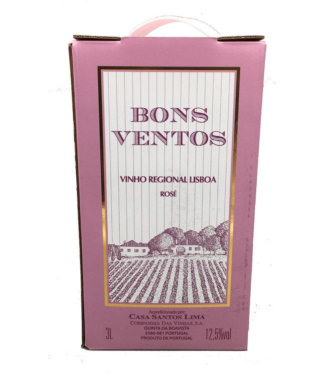 Bons Ventos Rosé 3lt Box