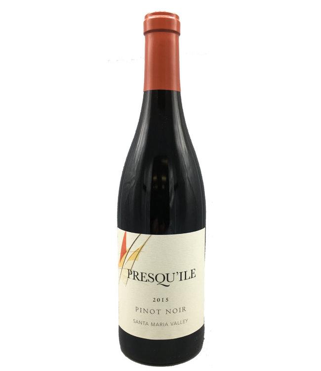 Presqu'ile Santa Maria Valley Pinot Noir 2015