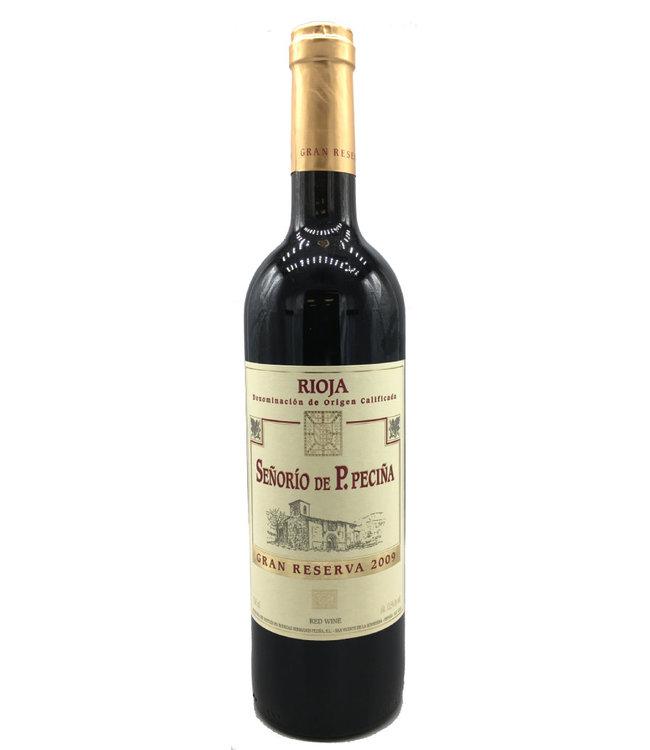 Bodegas Hermanos Peciña Rioja Gran Reserva Señorío de P. Peciña 2009