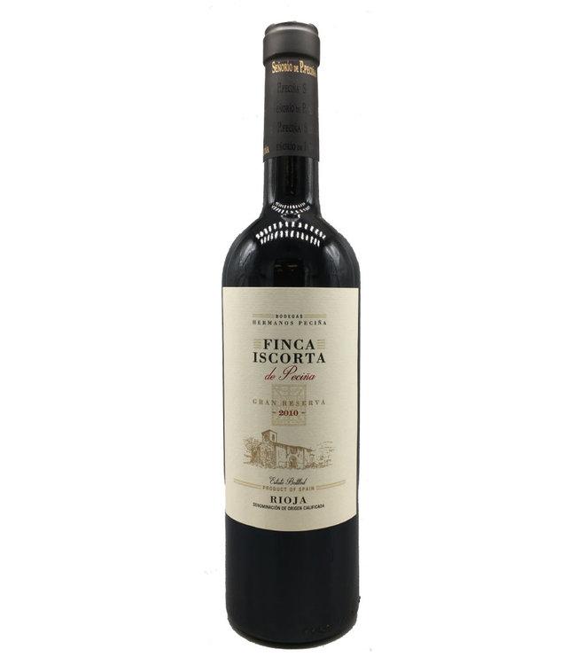 Pecina Finca Iscorta Rioja Gran Reserva 2010 750mL