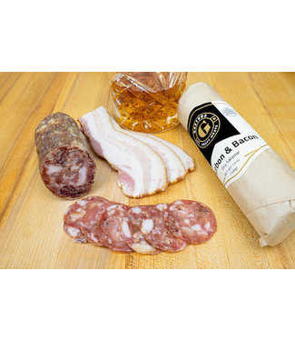 Gastros Bourbon and Bacon Salami 7oz