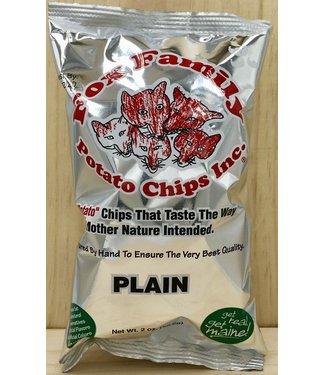 Fox Family Chips Plain 1.8oz bag